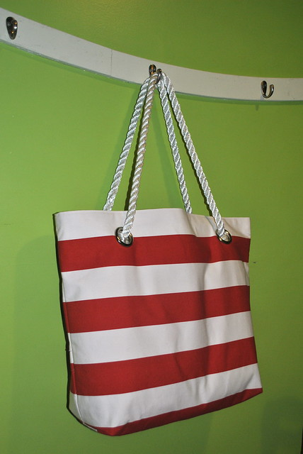 Sturdy Striped Tote