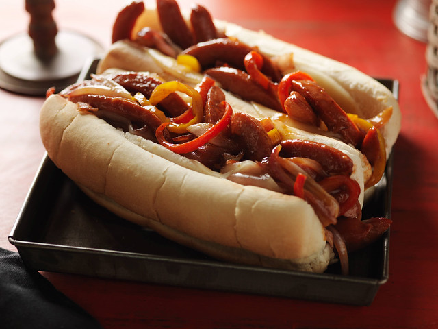 Wormy Weenie Sandwiches From Food Network Kitchens