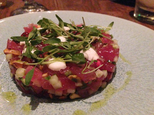 Ahi Tuna Tartare at The Church Key