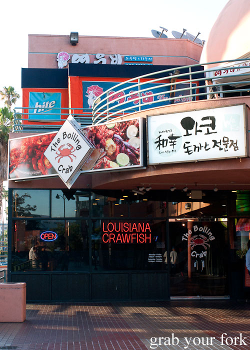 Seafood Boiling Crab Korea Town Los Angeles California