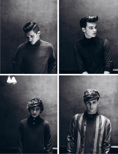 Union J for Boys by Girls Magazine