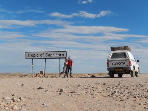 Namibië - Onderweg naar Rostock Riz Lodge - steenbokskeerkring