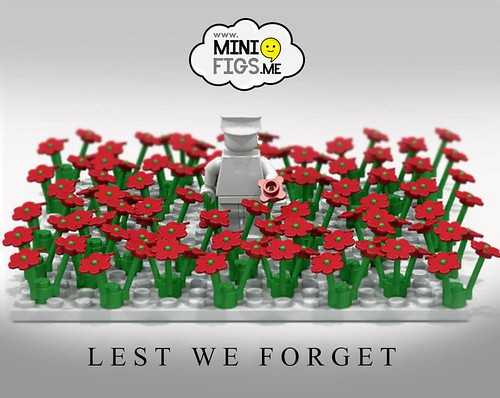 Lest We Forget (LEGO tribute for Remembrance Sunday)