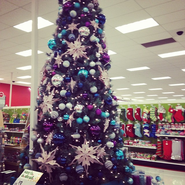 Love the color scheme of the @target tree this year. #target #christmas