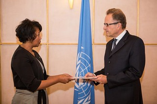 NEW PERMANENT REPRESENTATIVE OF MADAGASCAR PRESENTS CREDENTIALS