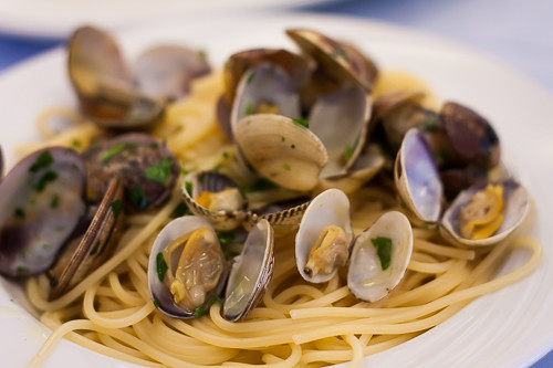 Sicily - pasta with clams