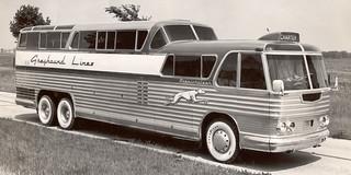 1956 Geyhound Scenic Cruiser
