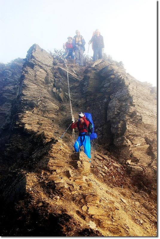 勇渡塔比拉斷崖 2