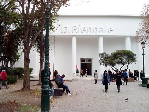 "L'arrivo ai Giardini per ""La Biennale"" by Ylbert Durishti"