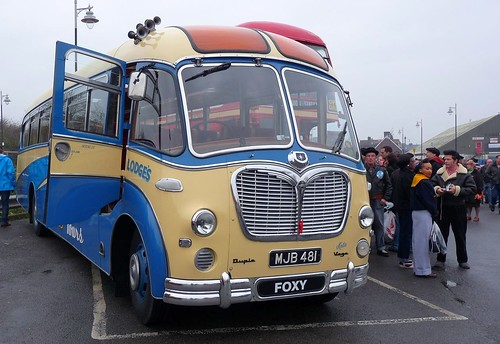 Bedford SB Duple Vega Coach 1956