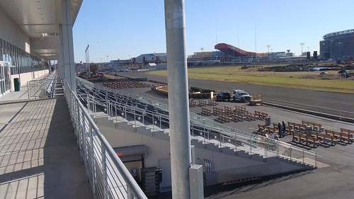 November 18, 2013 New Meadowlands Racetrack On Opening Day