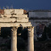 Rome: Temple of Castor and Pollux by Roger B. Ulrich