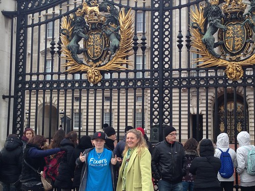 Fixers at Buckingham Palace