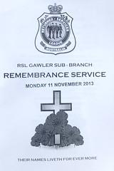 Remembrance Day Gawler 11Nov2013 (1)