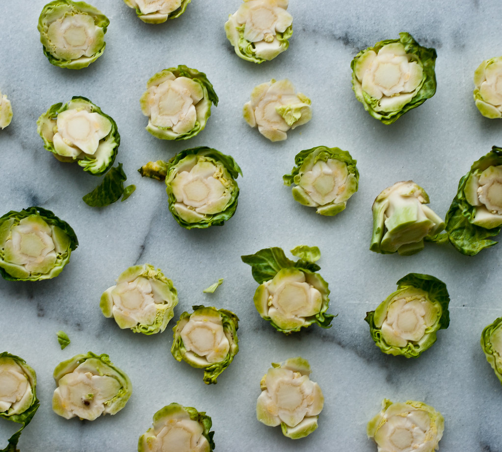 brussels sprout stems