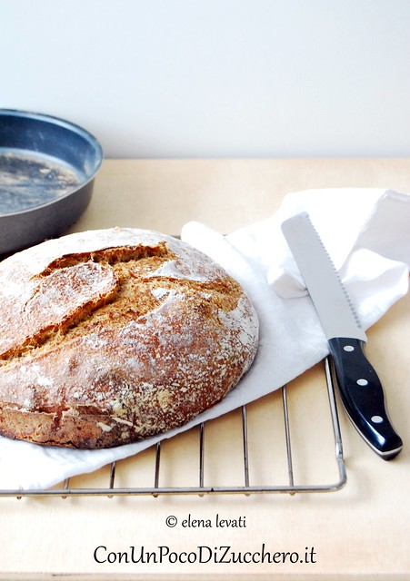 Pane senza impasto - No knead bread