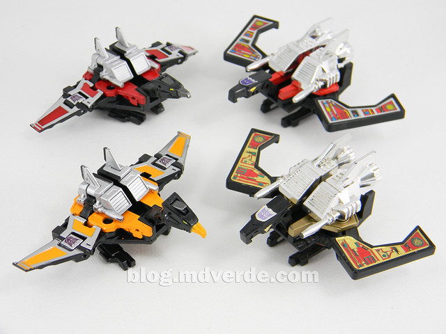 Transformers Buzzsaw Masterpiece - modo robot vs G1 vs Laserbeaks