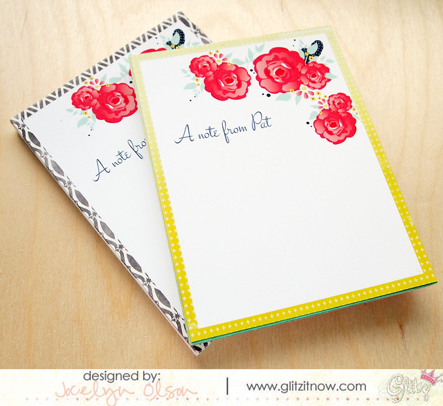 Glitz Finnley Notepads
