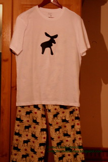 Moose pyjamas
