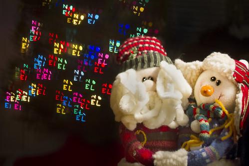 NOEL Christmas Bokeh by Scerakor