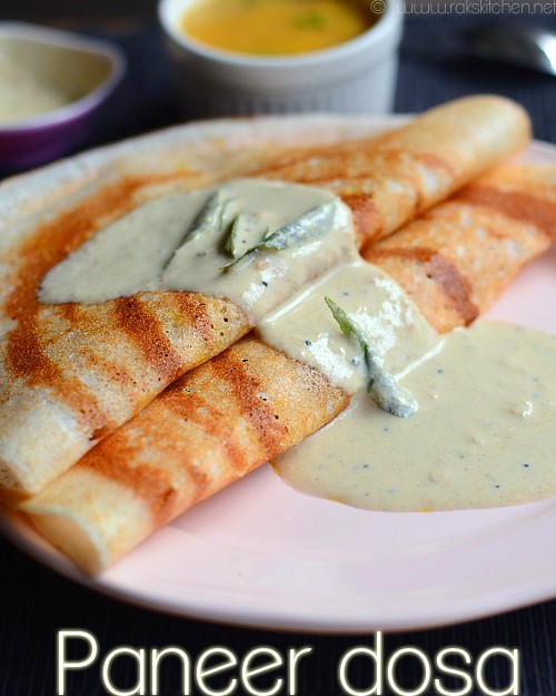 paneer-dosa-with-chutney