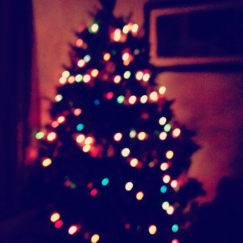 Our tree pre crashing to the ground.  #bluronpurpose #latergram