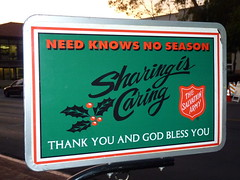 Salvation Army Message