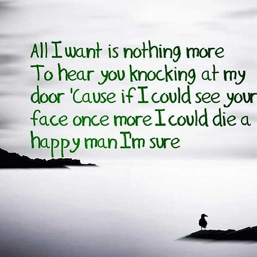 All I Want Quote Music Sad Lyrics Song Music Kodali Flickr