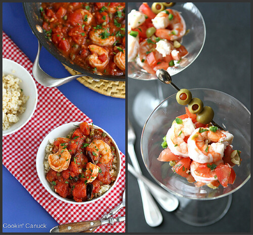 Easy Shrimp Recipes | cookincanuck.com #recipe #shrimp