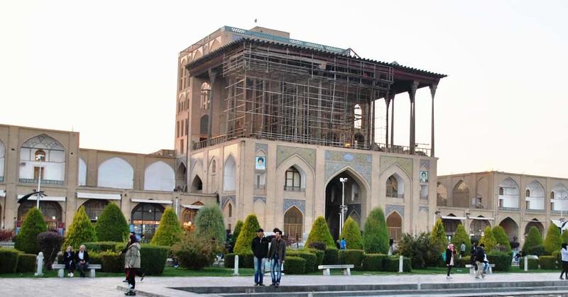 76 Palacio Ali Qapo en la plaza del Iman Khomeini en Isfahan (203)