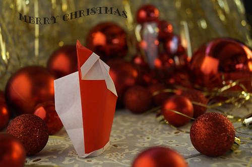 Origami Santa Claus 3b (Giang Dinh)