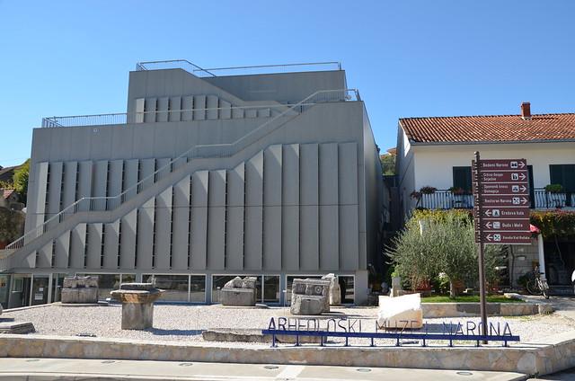 Archaeological museum Narona, Vid, Croatia