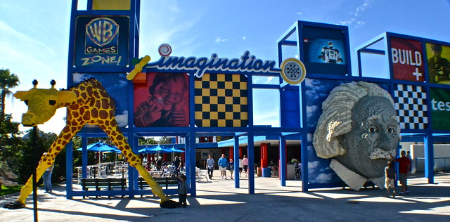 Legoland, Florida - imagination building and making