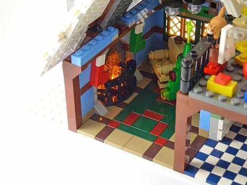 LEGO 10229 Winter Village Cottage d04