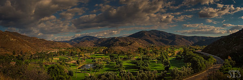 california trees usa mountains grass club clouds countryside sandiego resort golfcourse dehesa singinghills