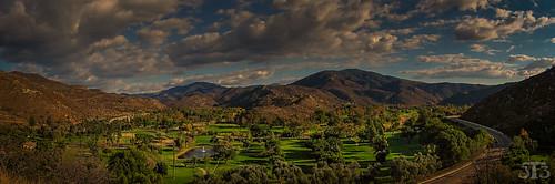 california trees usa mountains grass club clouds countryside sandiego resort golfcourse dehesa singinghills