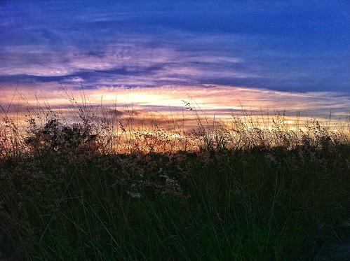 sunset orange yellow clouds sundown eveninglight eveninglandscape