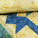 238_Navy Landscape Batik Gold Table Topper_l