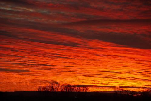 uk morning england sunrise dawn day cloudy somerset redsky daybreak bridgwater blinkagain
