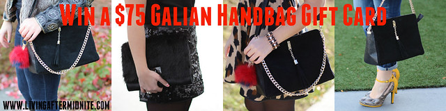 Win a Galian Handbag Gift Card!