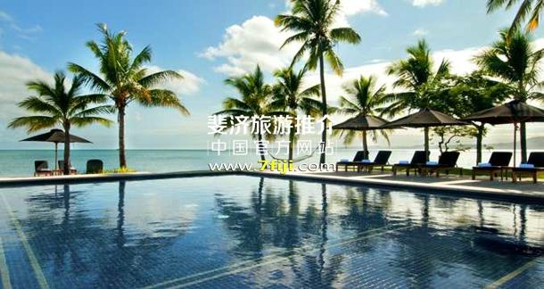 斐济希尔顿沙滩酒店儿童游泳池