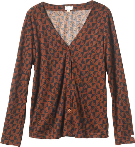 W - Jewel Theif Cardigan - Coconut Shell
