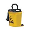 Oates Duraclean Mark II Wringer Bucket 15L Yellow SBKTIW008