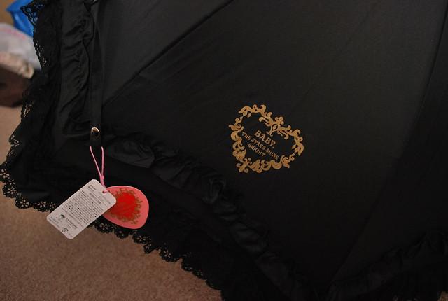 BTSSB black umbrella 2