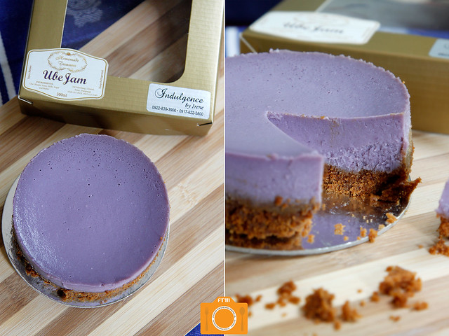 Indulgence by Irene Ube Cheesecake collage