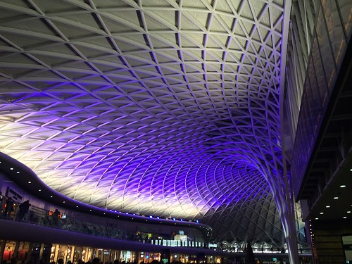 <p>New station roof at London King's Cross station</p>