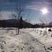 Schöckl im Winter - PedalritterInnen Biketour von Graz über den langen Weg auf den Schöckl15.2.2014