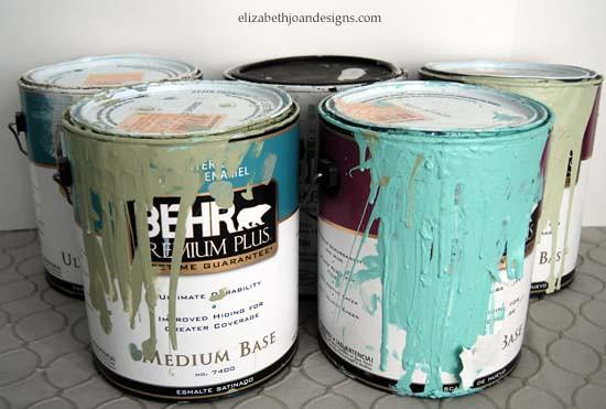 mason jar paint storage 9