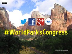 #WorldParksCongress is the hashtag for the World Parks Congress @WPCSydney @IUCN