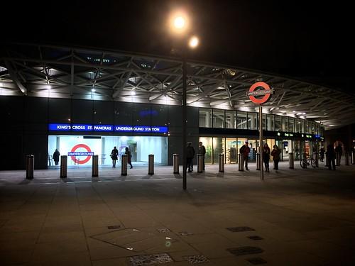<p>New tube entrance</p>